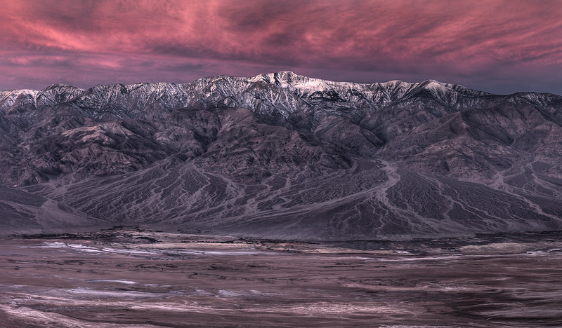 Panamint Range, Death Valley, CA