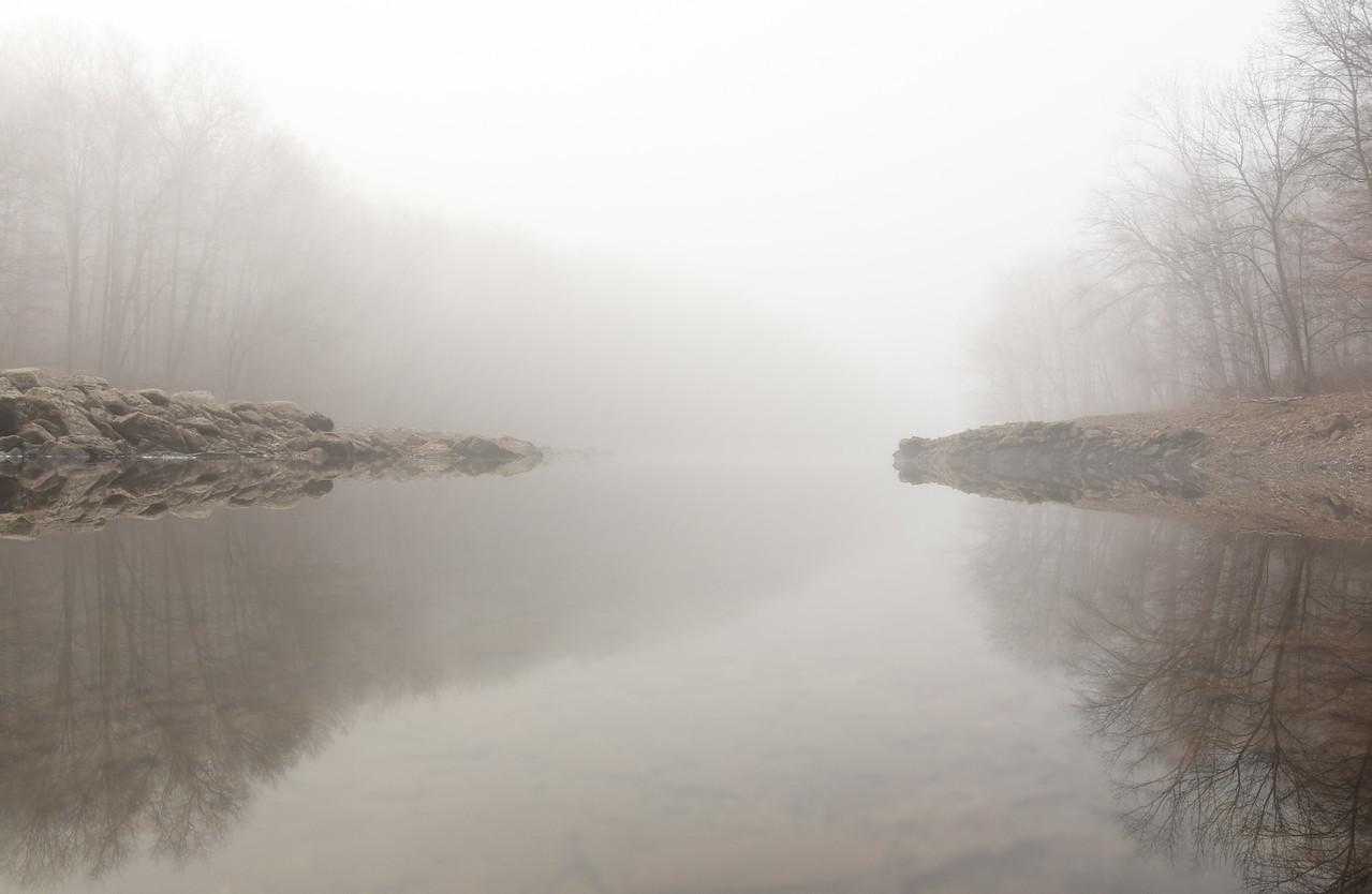 Fog At the Reservoir