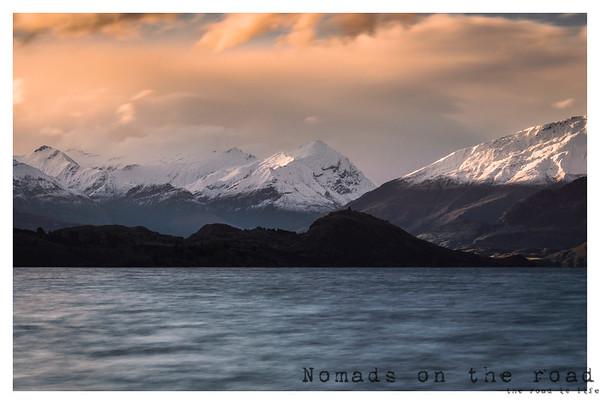 Sunset in Wanaka, New Zealand