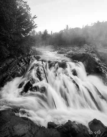 Chutes Falls at Dawn