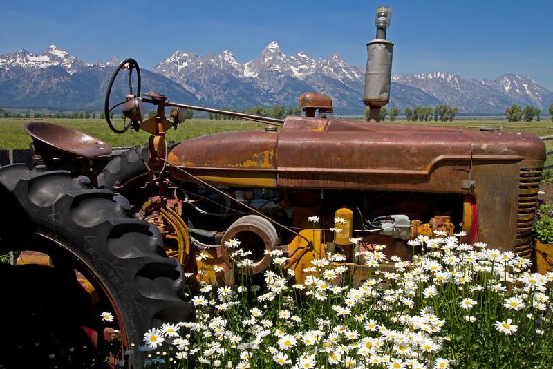 Mormon Row Tractor