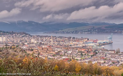 Greenock Two Centre from Kilmacolm Road.