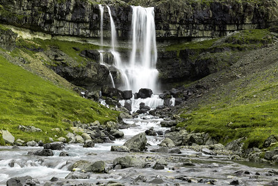 Waterfall in Iceland!  September 2016