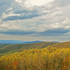 Blue Ridge mountains in Spring
