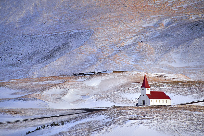 Church at Vik, Iceland