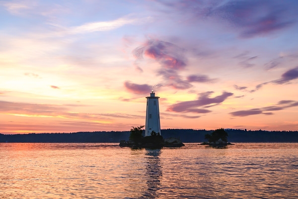 Loon Island Summer Sunrise 3