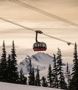Whistler Blackcomb's Peak to Peak Gondola
