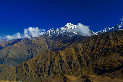 HIgh Himalaya - Nanda Devi Sanctuary India @15000ft