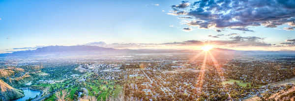 Logan Photographers, Logan Cache Valley Panorama
