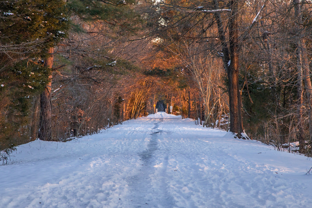 Greenway after the Snowstorn
