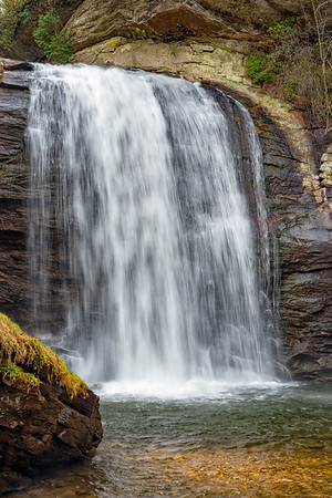 Looking Glass Falls - Pisgah National Forest - NC-7