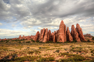 Gratitude - Arches National Park in Utah.