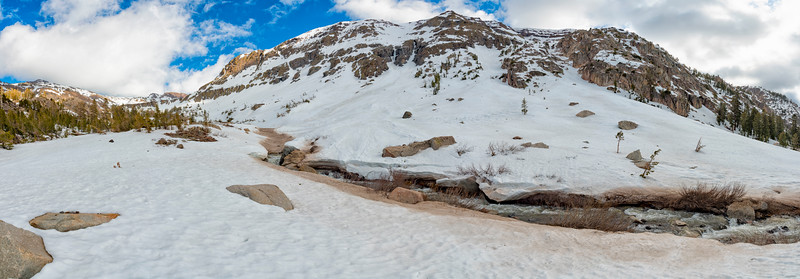 Deadman Creek Panorama - Sonora Pass