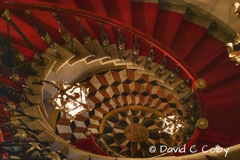 Staircase, Castle of Duino