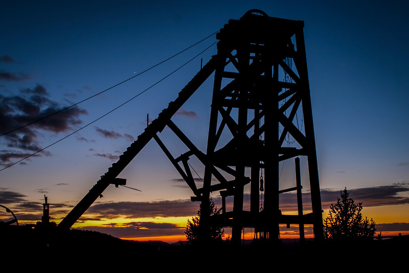 Mining Structure, Victor, Colorado