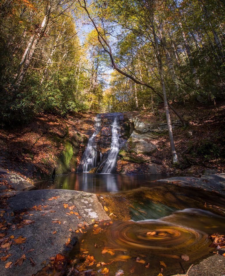 Autumn at Windows Creek Falls