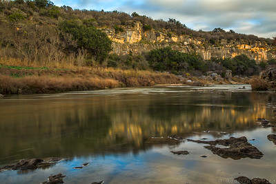 Colorado River at Colorado Bend State Park