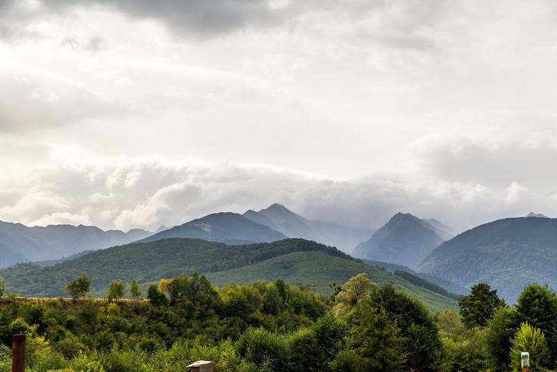 Stormy Morning, Romanian Hills 2015