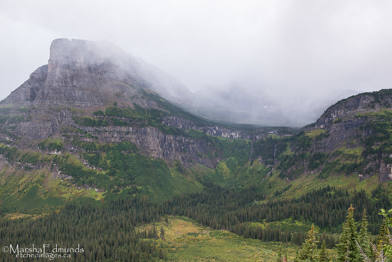 Storm Moving into Logan's Pass