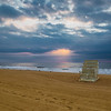 lifeguard chair #sunrise