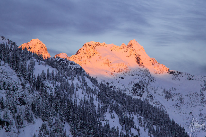Alpenglow, Snoqualmie Pass
