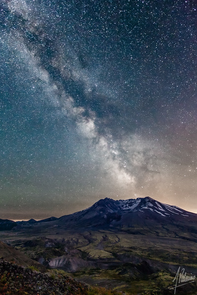 Mt. Saint Helens Eruption