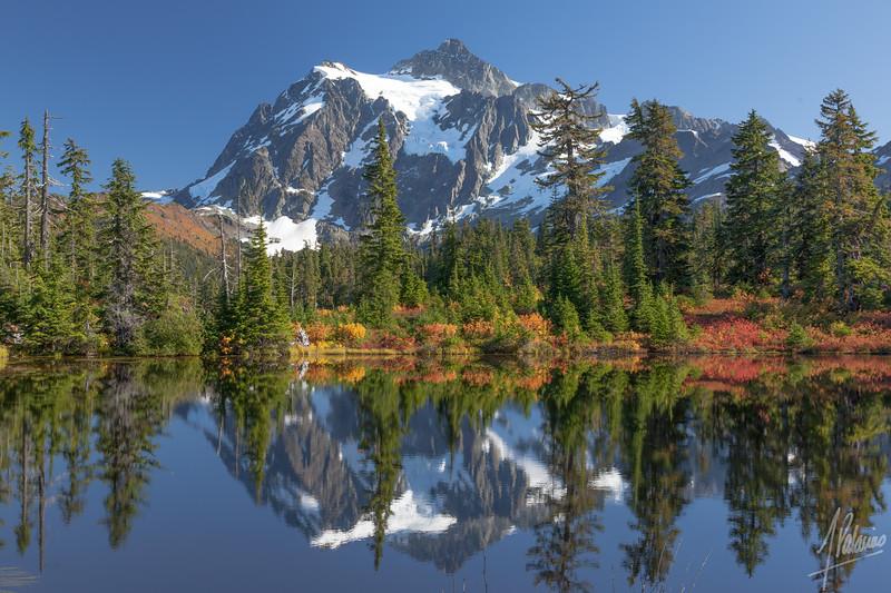 Mt. Shuksan at Picture Lake