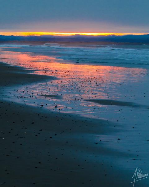 Sunrise and Damon Point State Park, Washington