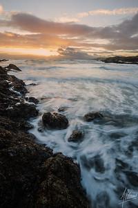 Sunset at Grandma's Cove, San Juan Island, Wa