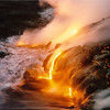 Ocean entry of lava flows 001