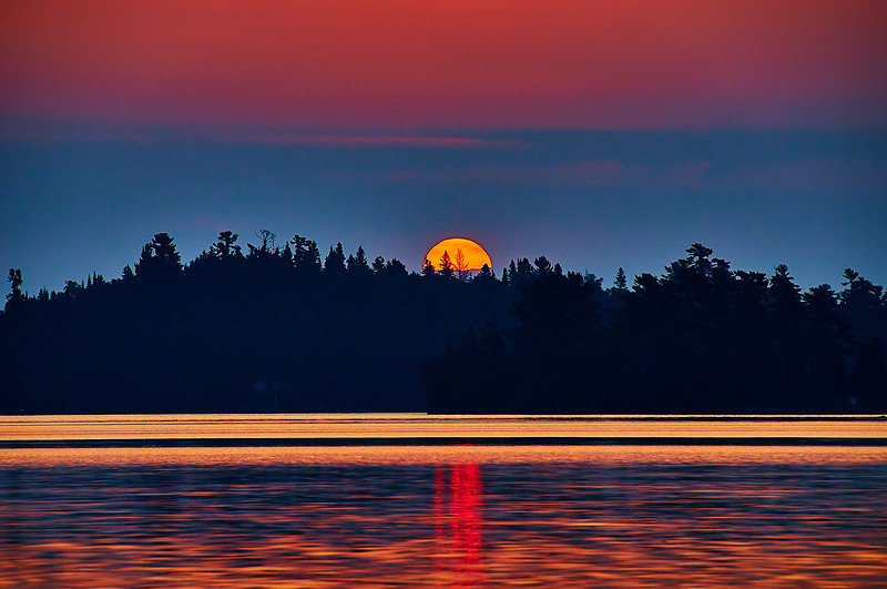 september sunrise over cony island