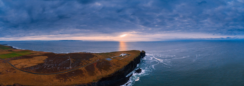 Christmas Sunset At Loop Head