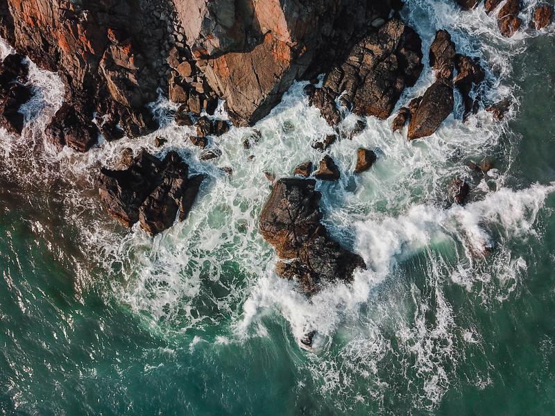Rough Seas on the Copper Coast