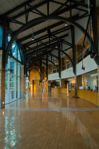 The City Hall section of the Port Moody library.