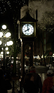 The steam clock in Vancouver's own gastown.