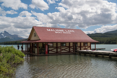 """This boathouse was built in 1928 by Donald """"Curly"""" Phillips."""