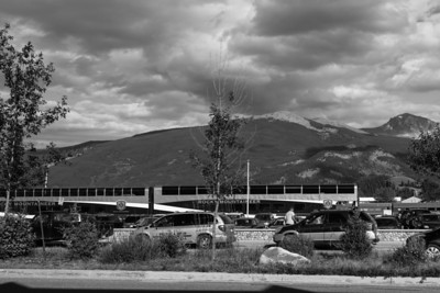The Rocky Mountaineer passenger train.