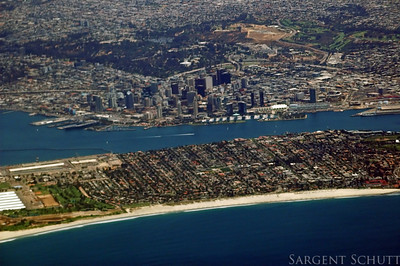 Coronado from the Air