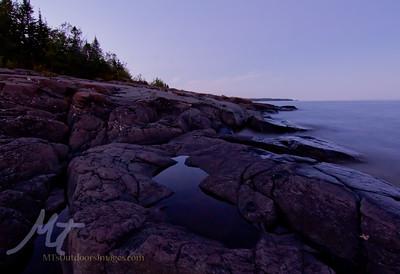 Stony Point, Lake Superior 9-12-2015