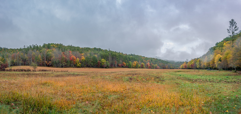 Cataloochee Autumn Morning