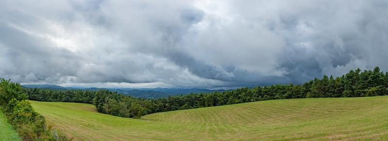 Mt Jefferson Overlook Area BRPW (Pano)