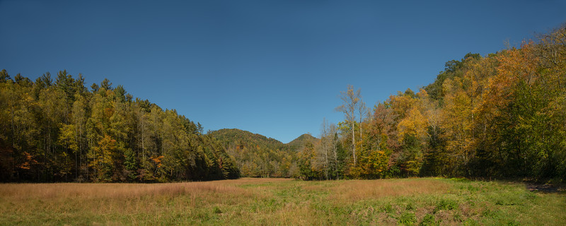 Cataloochee Ridge Line