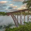 Sunrise, New River Gorge Bridge