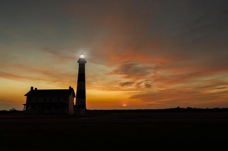 Morning Breaks, Bodie Island Lighthouse