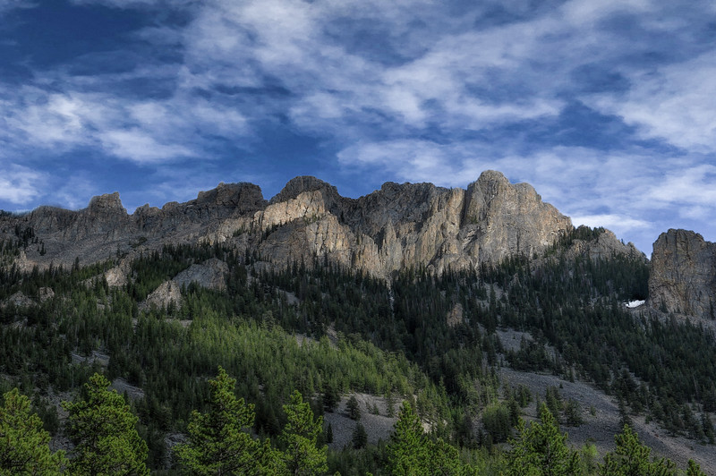 Along The Bear Tooth Highway.