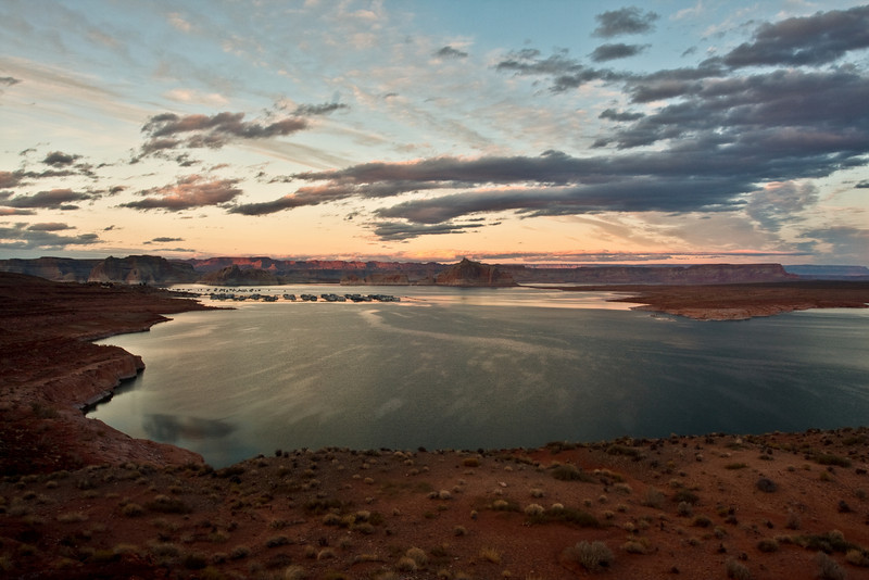 Lake Powell - HDR Blend