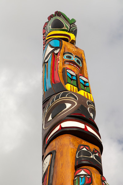 Totem Pole-Seattle Center