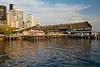 Downtown San Diego waterfront and Seattle Aquarium