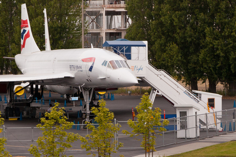 Concorde at the Boeing Museum of Flight