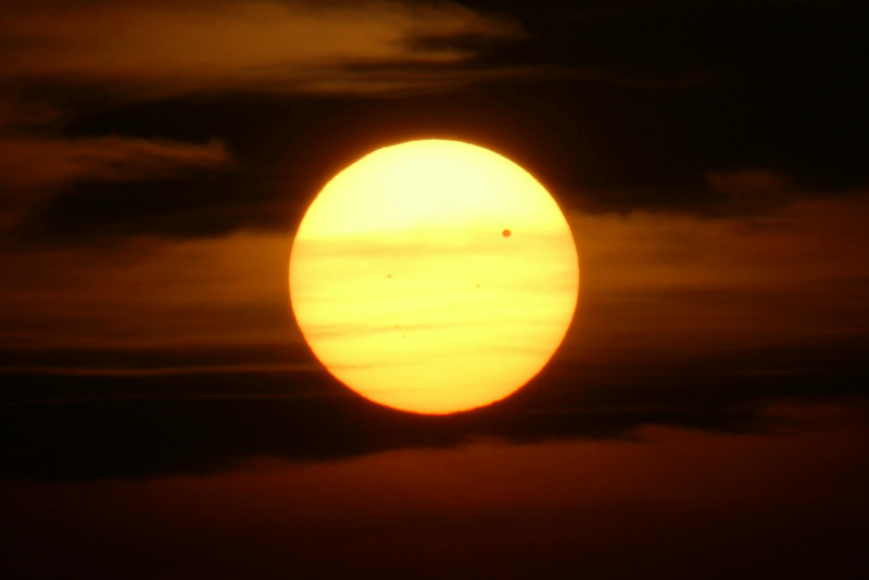 Transit of Venus, June 5, 2012